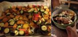 Grilled Vegetables and Feta