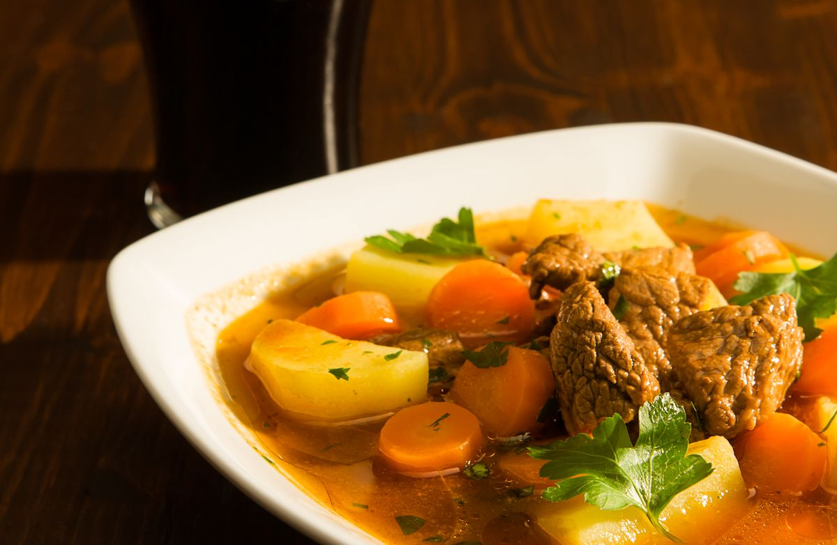 Guinness Beef & Bacon Stew