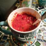 HALLOWEEN Blood and Brains Soup