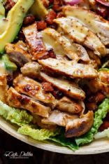 HONEY MUSTARD CHICKEN and BACON SALAD