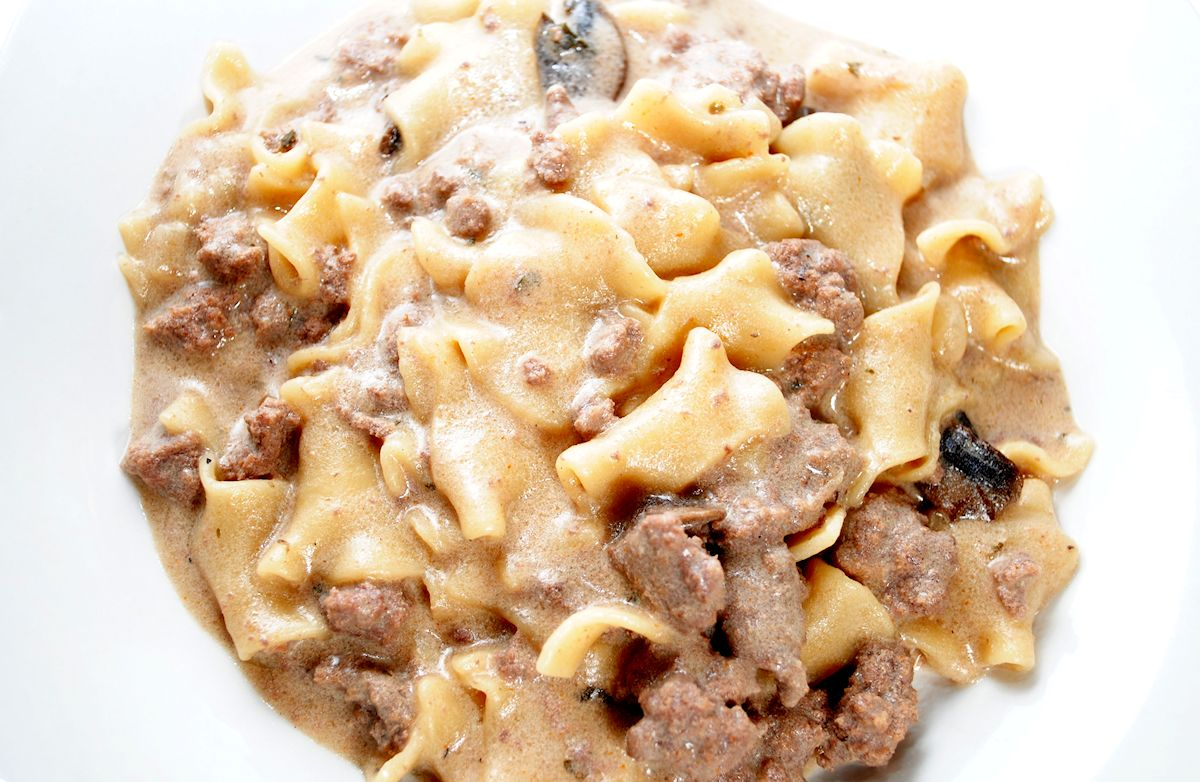 Hamburger Stroganoff RECIPE