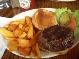 400 Calorie Dinner - Hamburgers with Corn