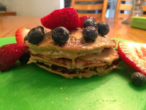 Healthy Blender Pancakes