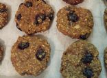Healthy Blueberry Cookies