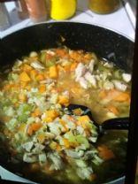 Healthy Chicken Veggie Soup