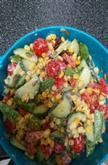 Healthy Loaded Vegetable Salad