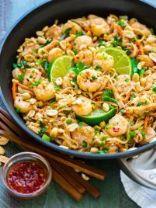 Healthy Shrimp Pad Thai