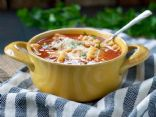 Healthy Slow Cooker Lasagna Soup