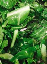 Circle of Surrender Healthy Vibrant Collard Greens with Onions