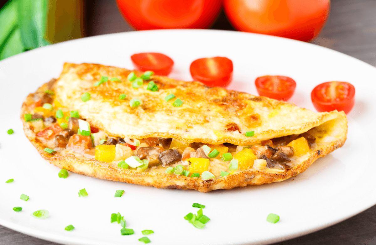 Hearty Veggie Omelet