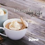 HerSUPPZ Cinnamon Roll Mug Cake with Protein
