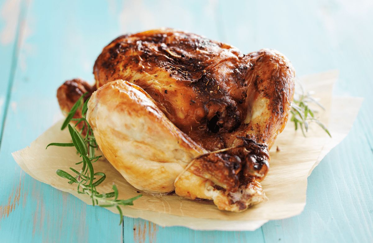Herb-Roasted Whole Chicken
