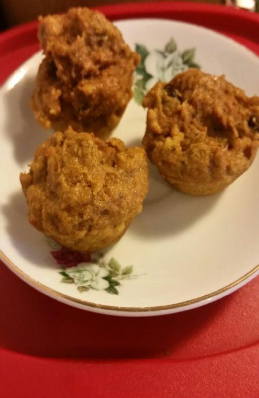 Juicing Pulp Muffins