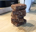 High energy paleo chocolate and nuts bars