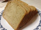 Home Made Wheat Bread (Bread Machine)
