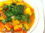Homemade Cilantro & Mango Salsa