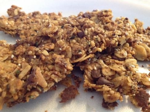 Homemade Energy Granola Bars