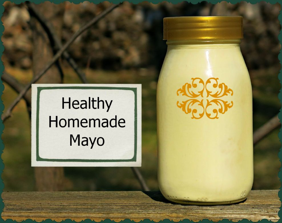 Homemade Olive Oil Mayo
