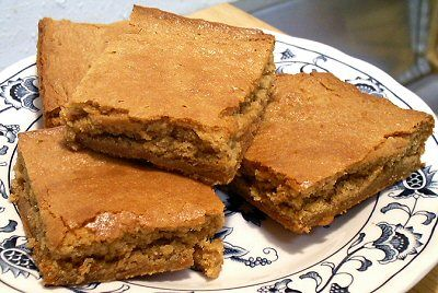 Homemade Peanut Butter Bars