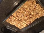 Homemade fiber bars