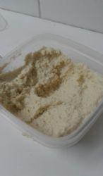 Homemade hummus with no tahini