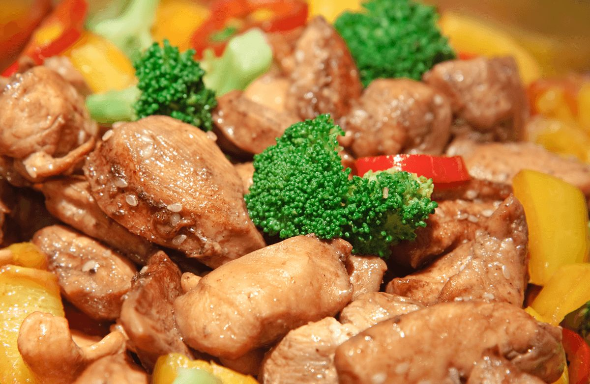 Honey Chicken Stir-Fry