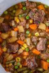 Hurry-Up Beef & Mixed Vegetable Supper