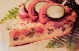 Impossible Zucchini-Tomato Pie