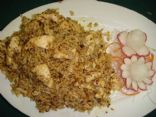 Indian Rice with Chicken