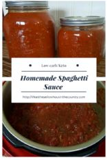 Instant Pot Low Carb/Keto Spaghetti Sauce