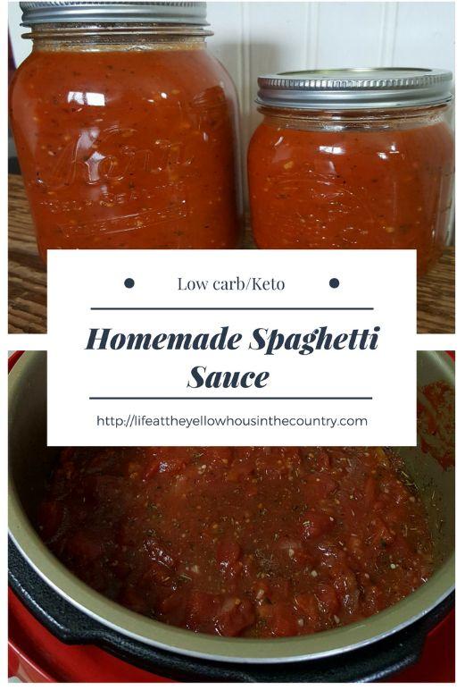 Instant Pot Low Carb Keto Spaghetti Sauce Recipe