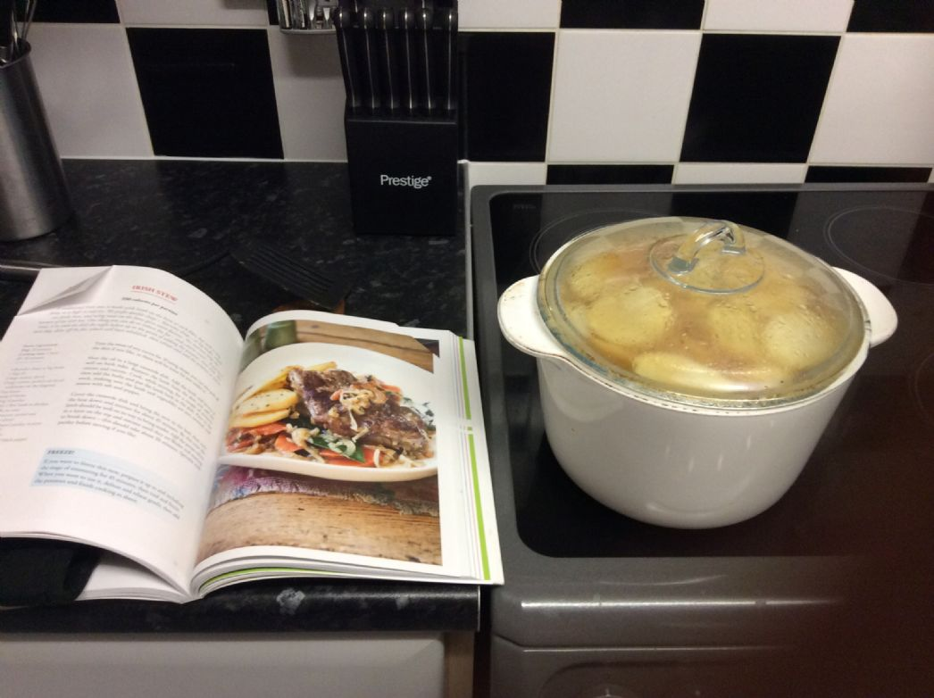 Irish stew (hairy dieters book 3) not beef lamb but no option for lamb