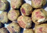 Italian Meat LESS Balls (from residual juicing pulp solids)
