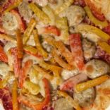 Italian Pizza w/ Sausage and Peppers