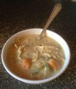 Jalepeno chicken mushroom soup