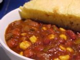 James's easy vegan chili