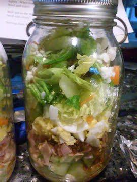 Jar Cobb Salad