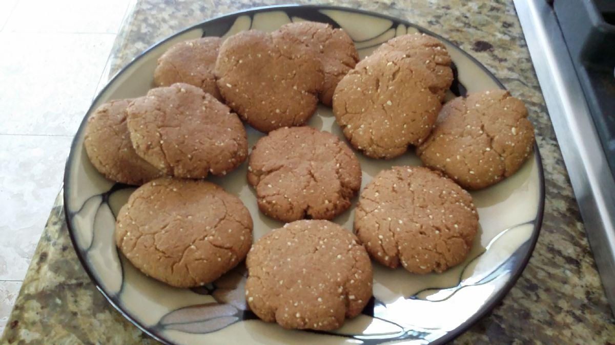 Jennifer's Almond Cookies