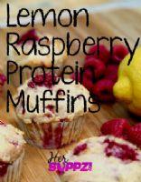 Jessica's Lemon Raspberry Protein Muffins