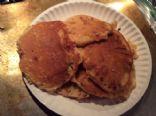 Jiffy Raspberry squirt pancakes