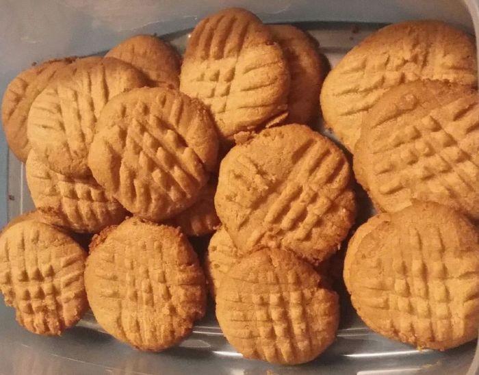 Keto Peanut Butter Cookies Recipe Sparkrecipes