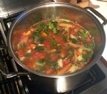 Kale, Sausage & Vegetable Soup