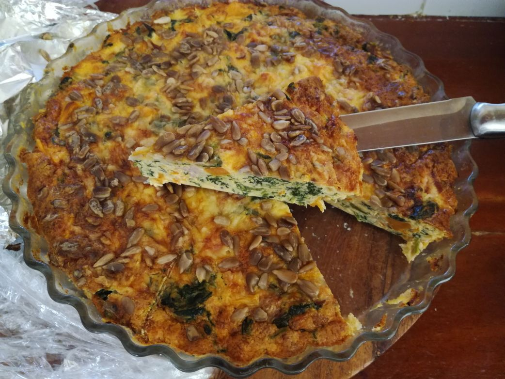 Kel's REAL FOODS Quiche