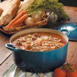 Keto Beef Vegetable Soup
