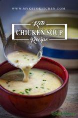 Keto Cream of Chicken Soup