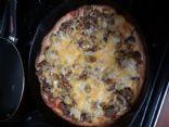 Keto Deep dish pan  Pizza