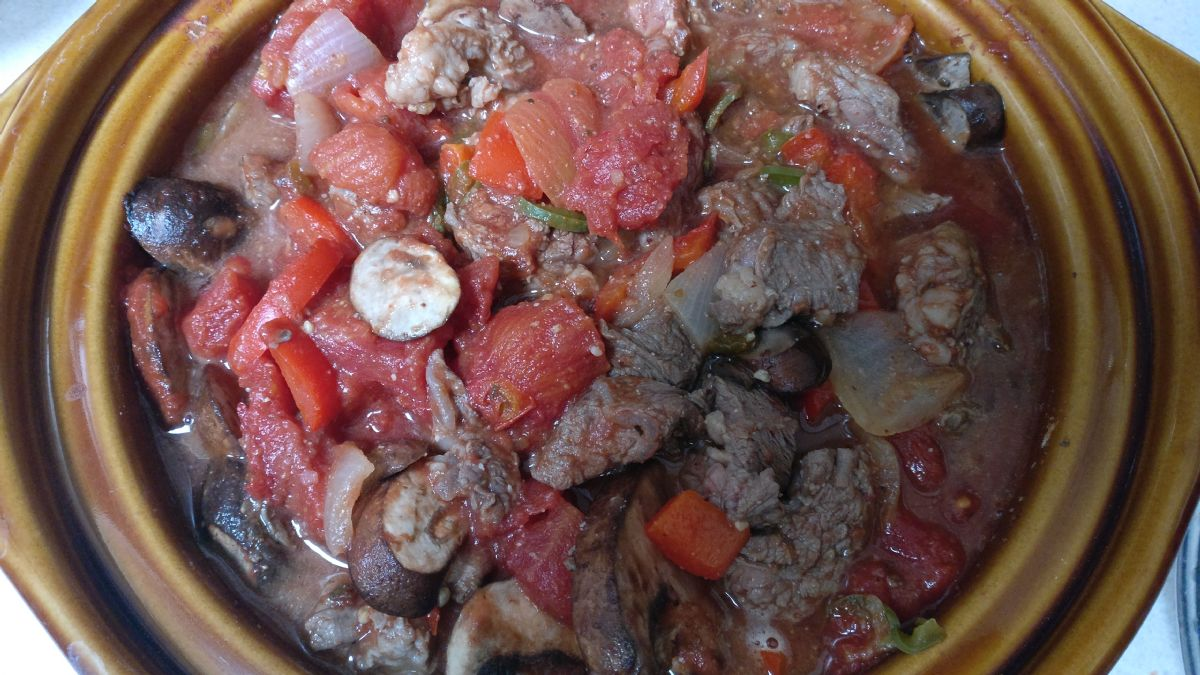 Keto Deviled Swiss Steak