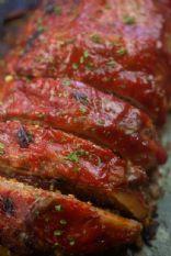 Keto Meatloaf With Pork Rinds