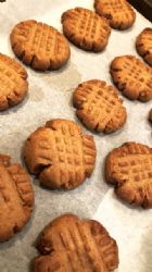 Keto Peanut butter cookies - low carb