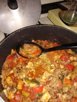 Keto Style Chili, No beans
